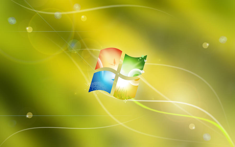 Lime Windows 7 by Vinis13
