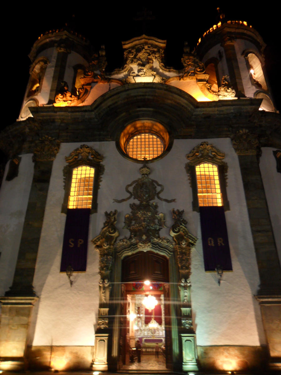 Baroque Church Brazil by Vinis13