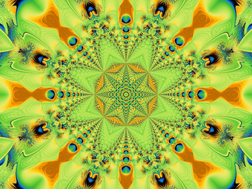 Fractal Peacock by Vinis13