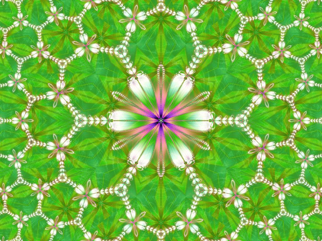 Fractal Flower by Vinis13