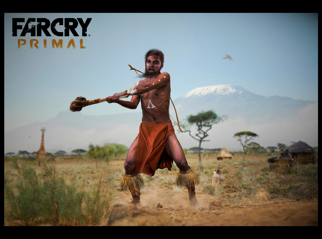 Far cry Primal by 42na4ever