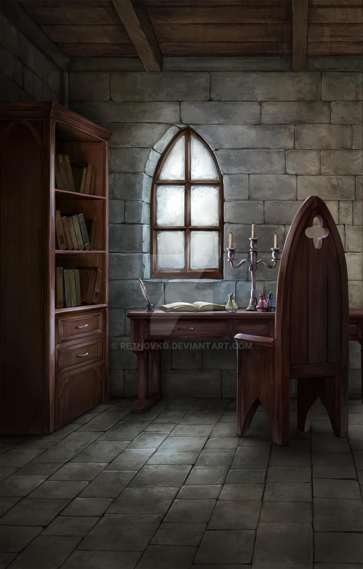 Olkd Study Room: Medieval Environment Study By ReznovKG On DeviantArt