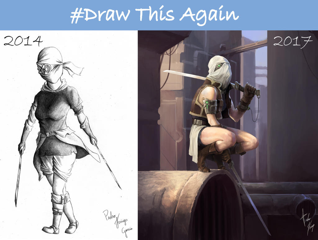 #DrawThisAgain by ReznovKG