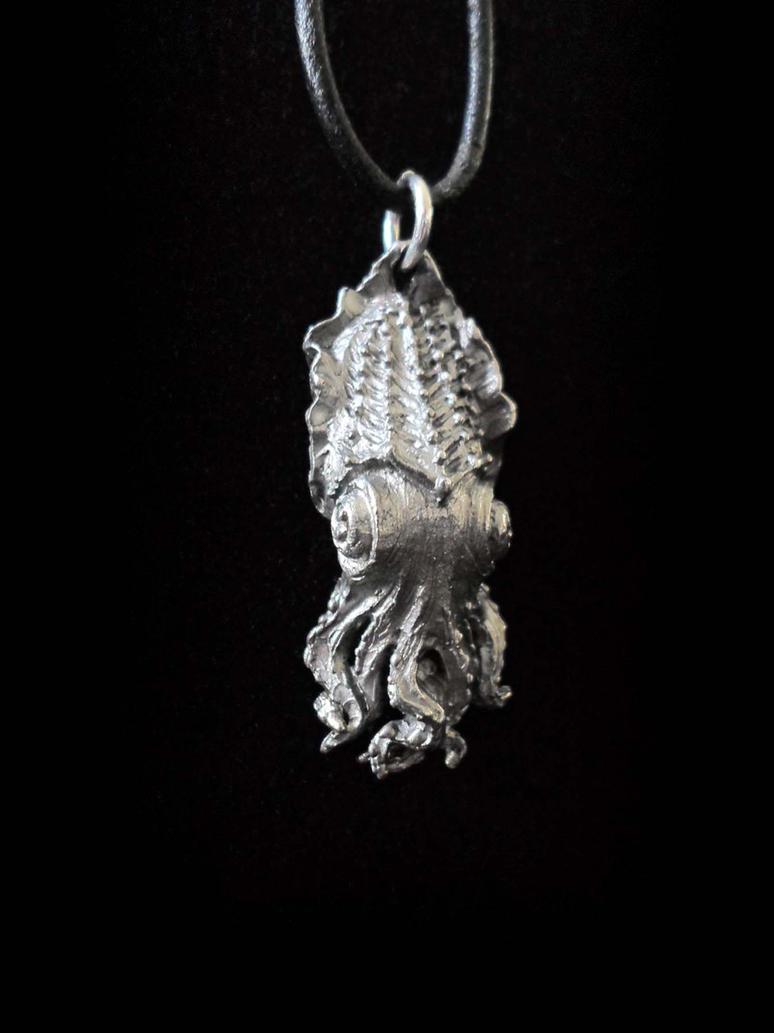 Cuttlefish Pendant by DellamorteCo