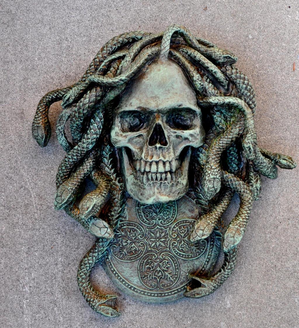 Medusa Relief by DellamorteCo