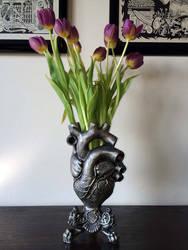 Anatomical Heart Vase by DellamorteCo