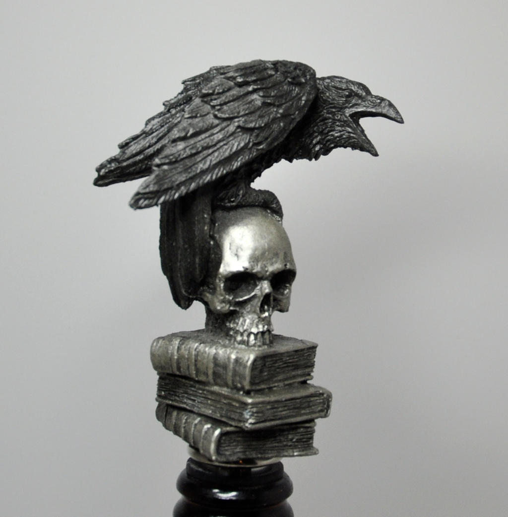 Raven Winestopper by DellamorteCo