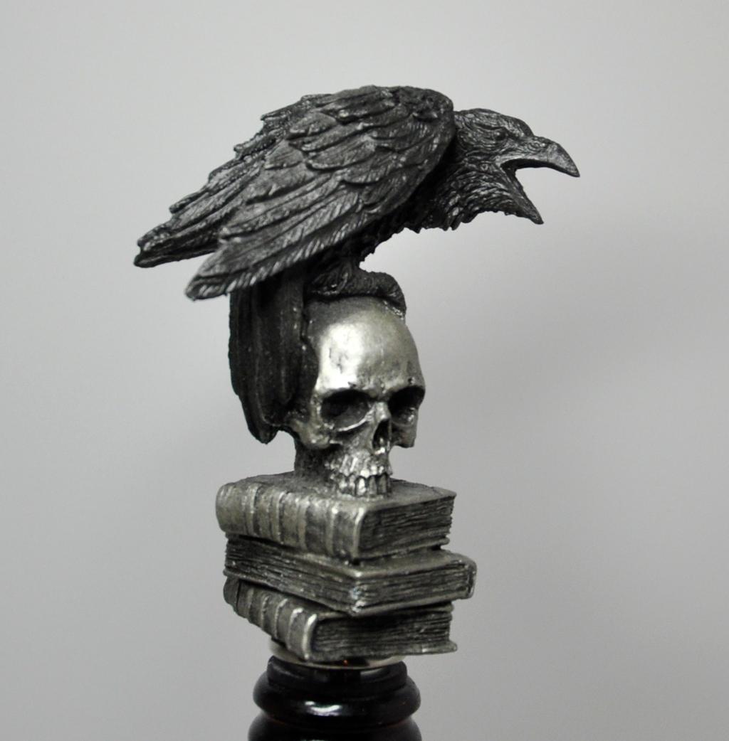 Raven Winestopper by DellamorteCo
