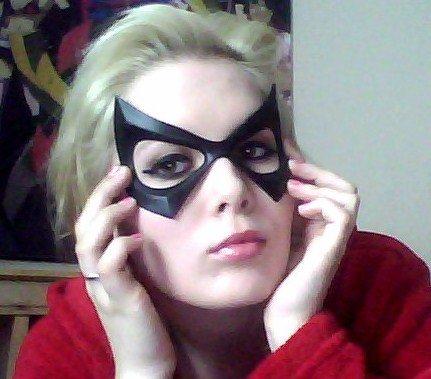 Ms. Marvel Mask by GraceyDarling on DeviantArt