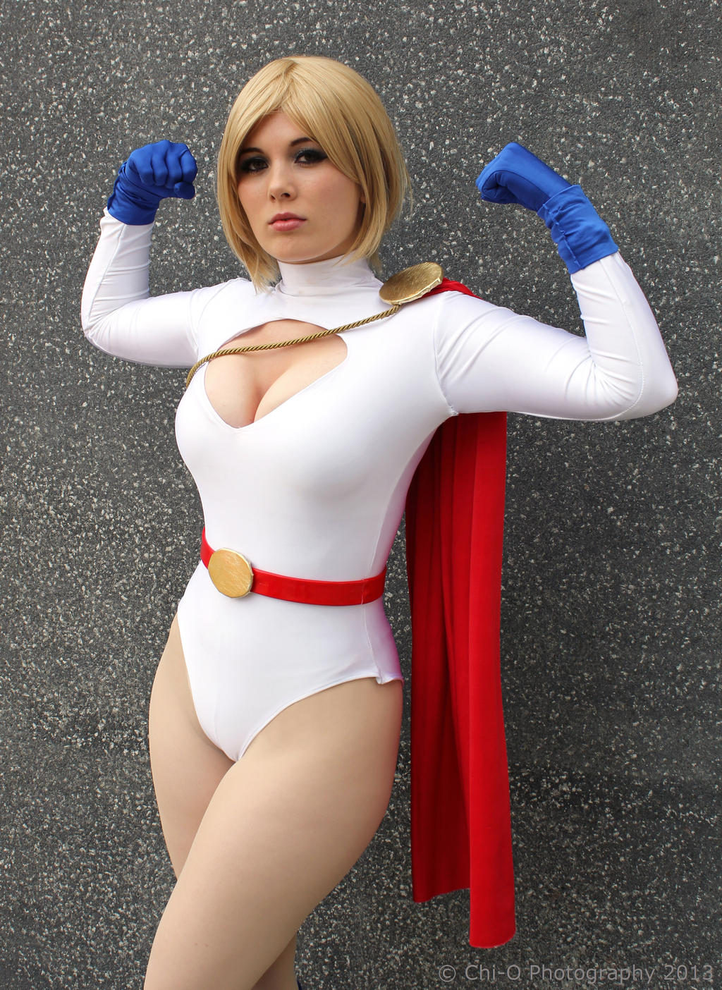 Power Girl Cosplay by GraceyDarling