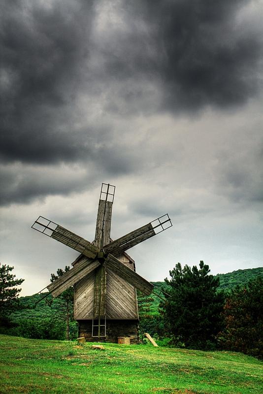 wind mill by lucifersdream