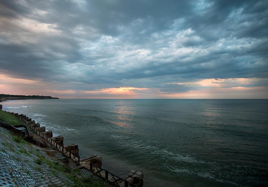 sunset after rain by lucifersdream