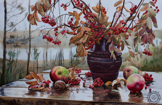 Autumn Ashberries