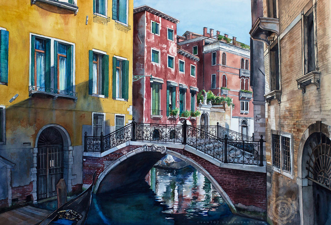 Colors of Venice by Cyan707
