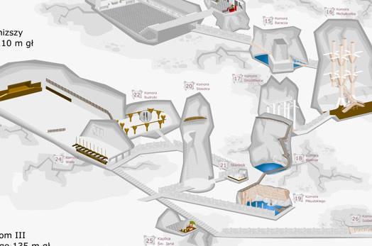 Map of salt mine