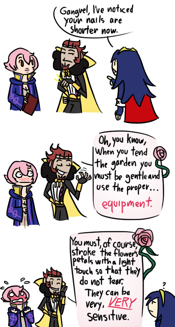 Gangrel's Gardening Tips by Ary-Capricat
