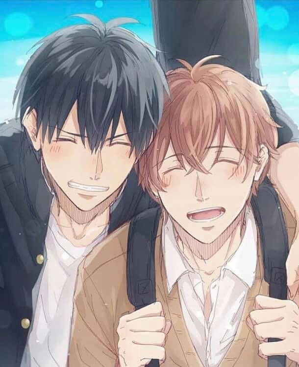 Uenoyama Ritsuka and Mafuyu Sato Boyfriend by theDest16 on DeviantArt