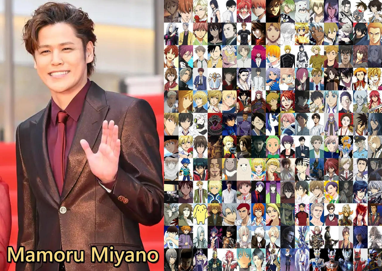 Happy Birthday Mamoru Miyano 6 8 2020 By Thedest16 On Deviantart