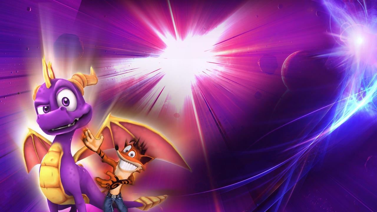 Crash and spyro hd by wizardum on deviantart - Spyro wallpaper ...