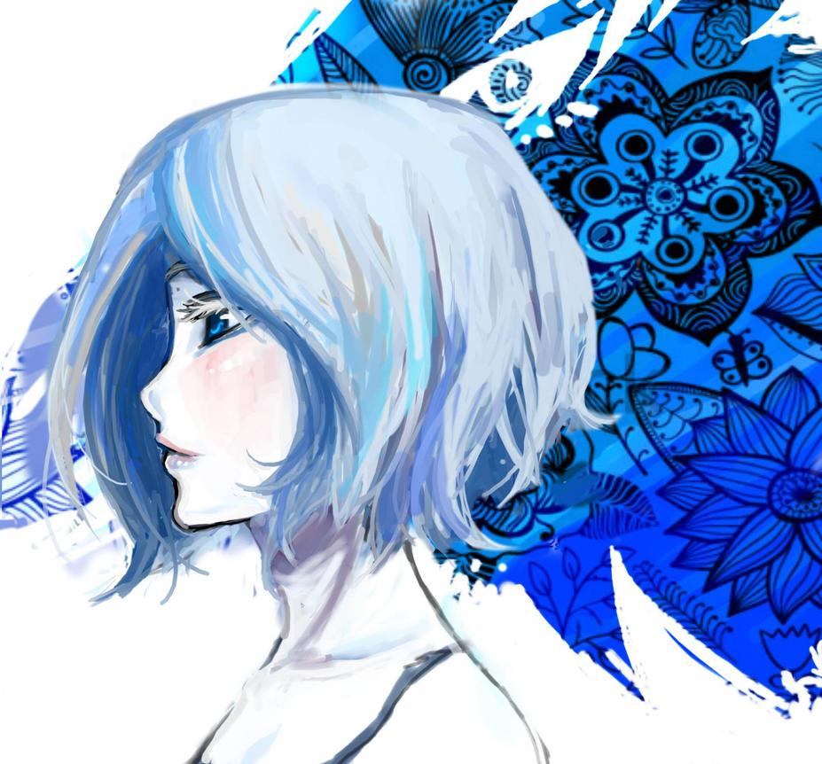 Blue by Erinyedust
