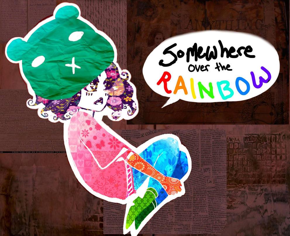 Over the rainbow by Erinyedust