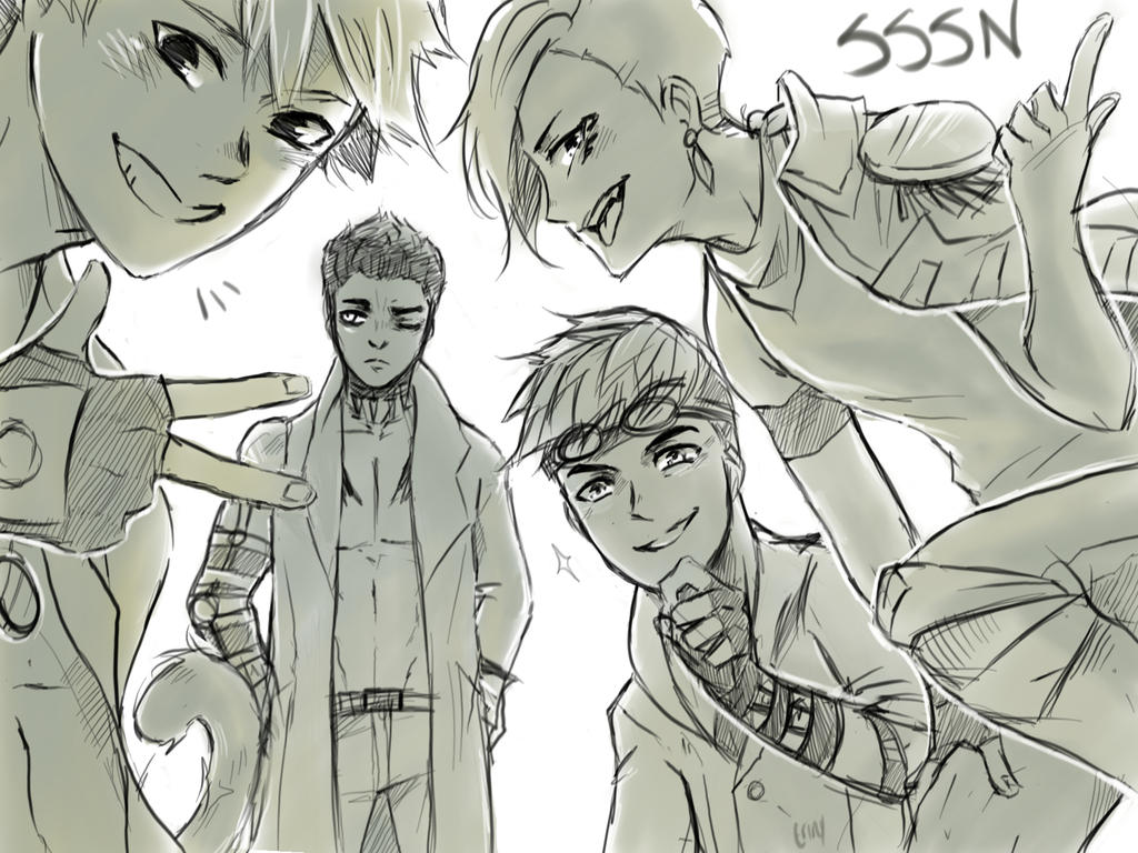 team SSSN by Erinyedust