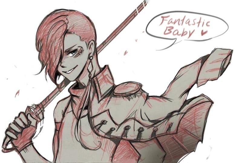 Fantastic Scarlet by Erinyedust