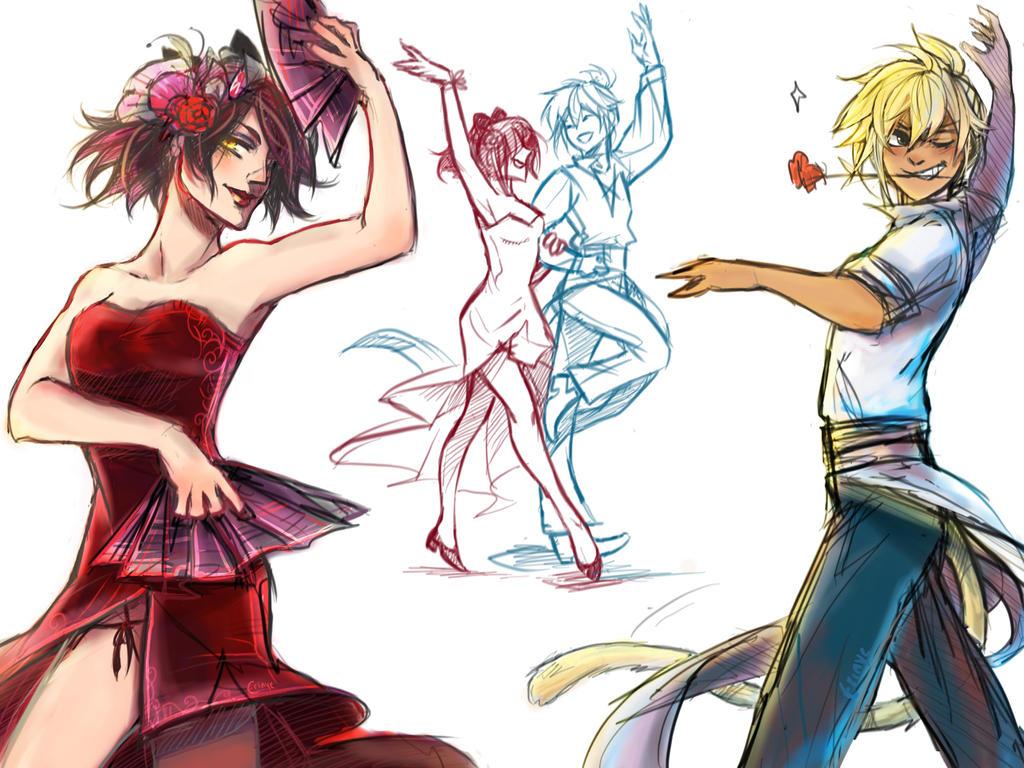 Flamenco Au by Erinyedust