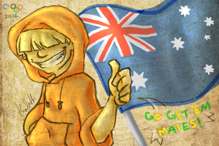 Wally - Go Australia! by D00Mk1tty14