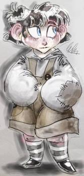 TPP - Shirley Sketch - Coloured