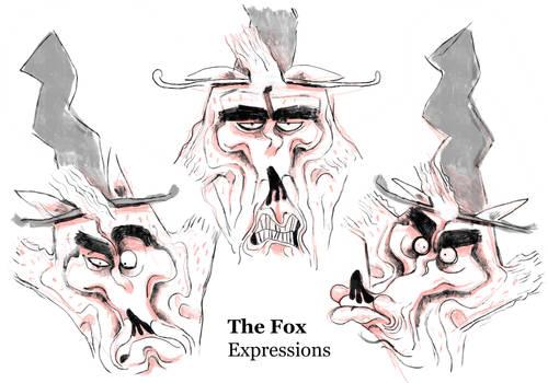Pinocchio - Fox Expressions
