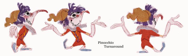 Pinocchio - Turnaround