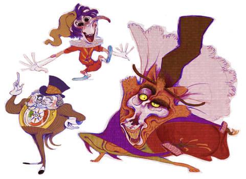 Pinocchio Characters