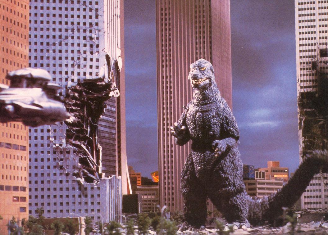 Godzilla '84 Still 17, Front by geekspace on DeviantArt