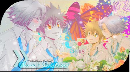 Tsuna x Gokudera firma/signature by kasigiri