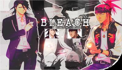 bleach signature/firma {byakuya x renji} by kasigiri