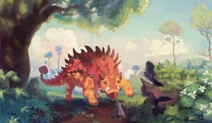 Made last yearCommission: Ankylosaurus