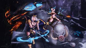 Ashe and Sejuani - League of Legends