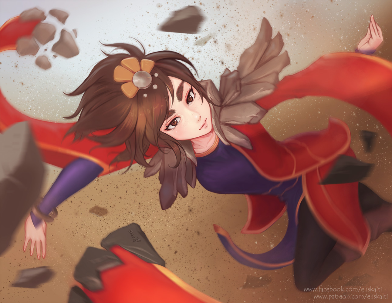 the_little_sparrow___taliyah_by_eliskalt