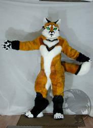 Fursuit Golden Fox