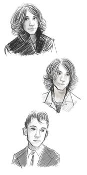 alex turner doodles