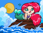 ARIEL the little mermaid by AnyaUribe