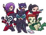 THE WOMEN OF THE BATMAN
