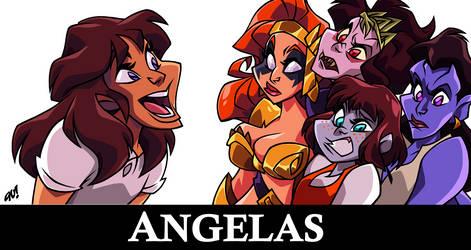 ANGELAS by AnyaUribe