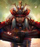 Samurai by GBrush