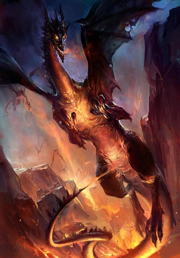 dragon by ~GBrush