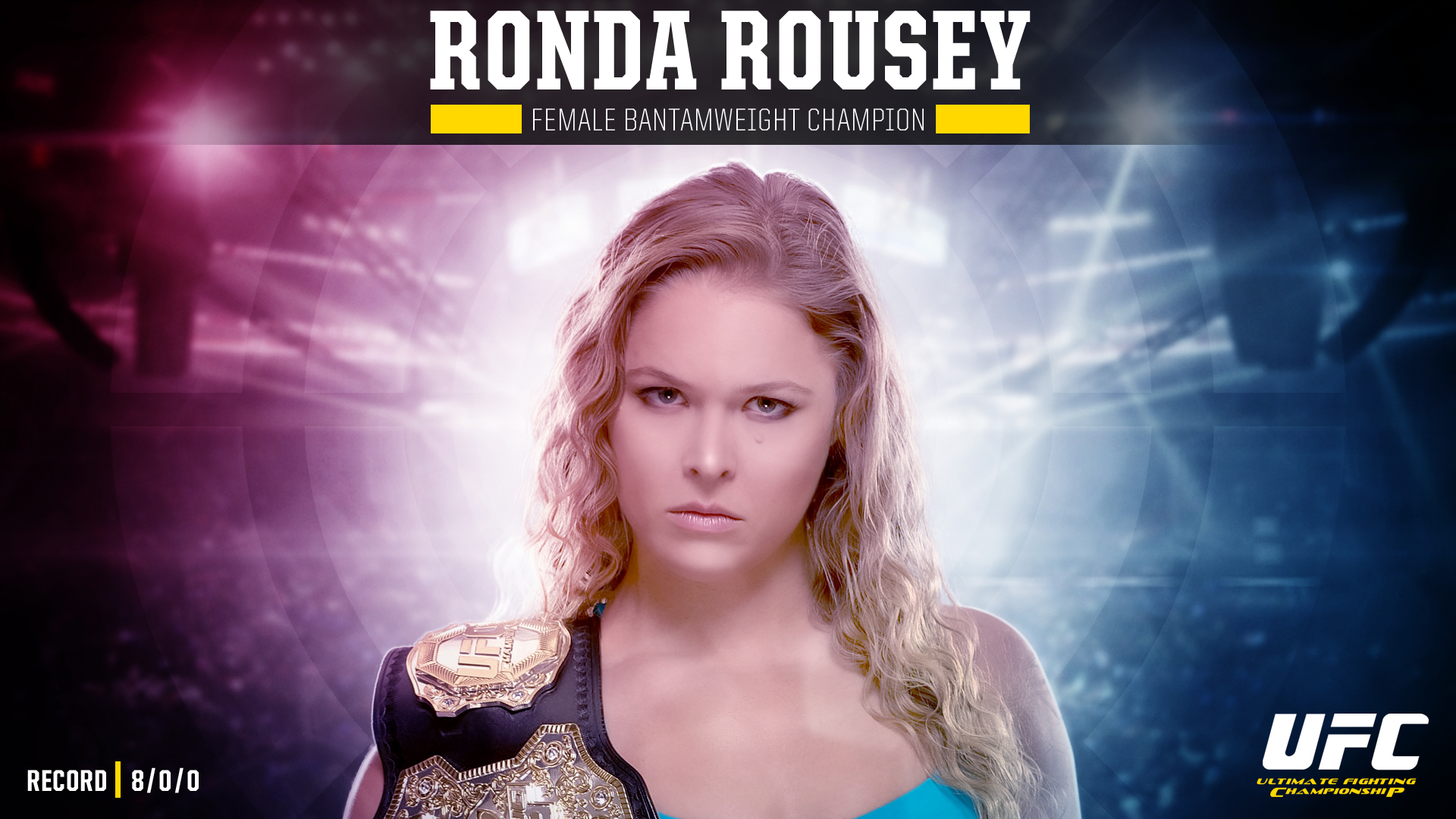 Ronda rousey still undisputed by exaart on deviantart