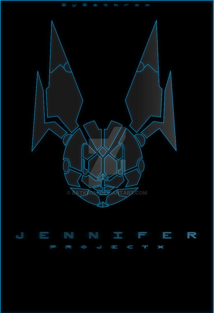 Jenny Logo Neon Version by Batkrom