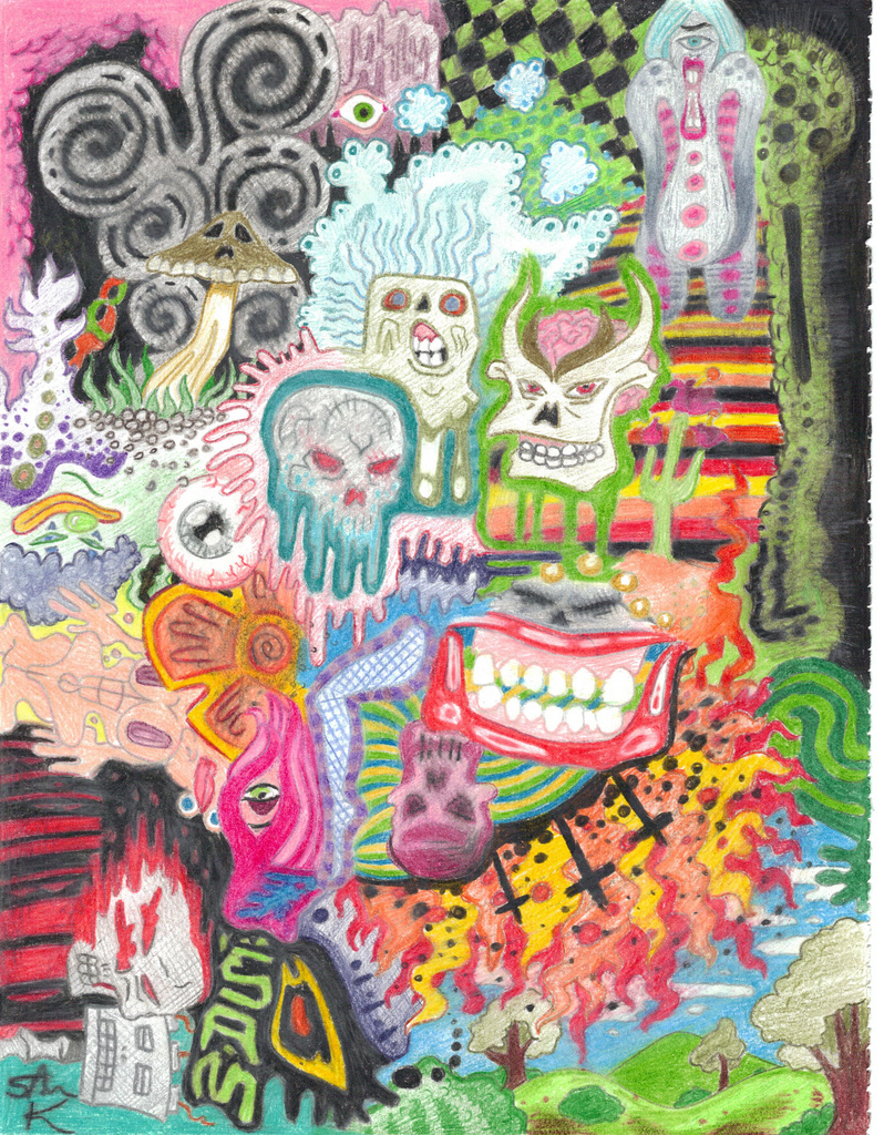 Bad Psychedelic Trip by Samuel81 on DeviantArt