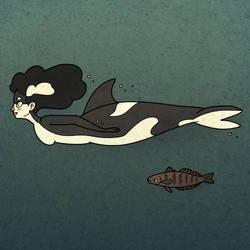Orca Mermaid